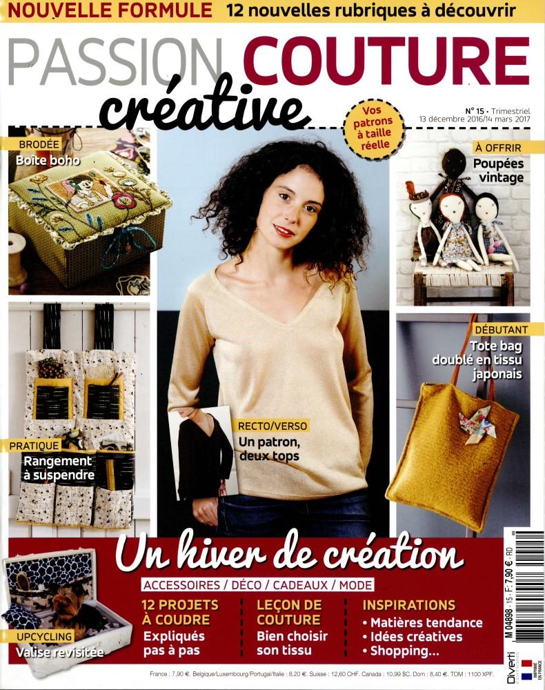 """Résultat de recherche d'images pour """"passion couture  n°15"""""""