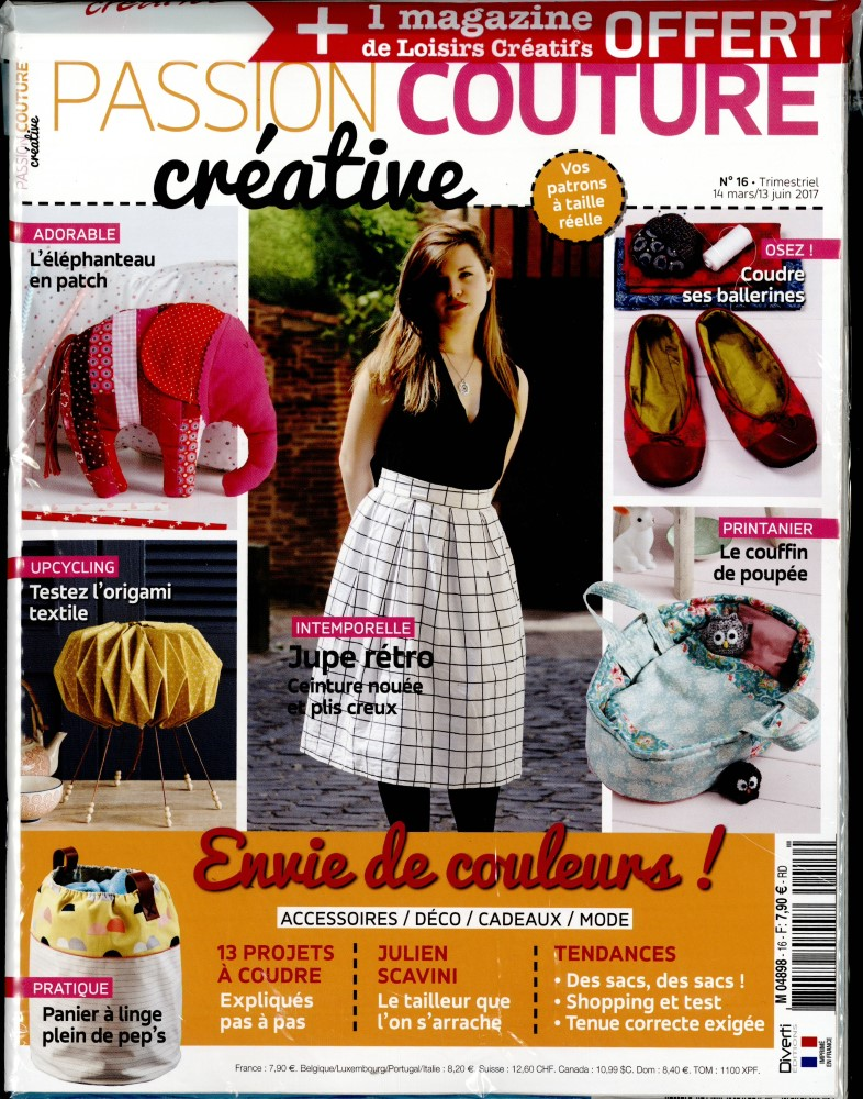 Passion couture créative N° 16 Mars 2017
