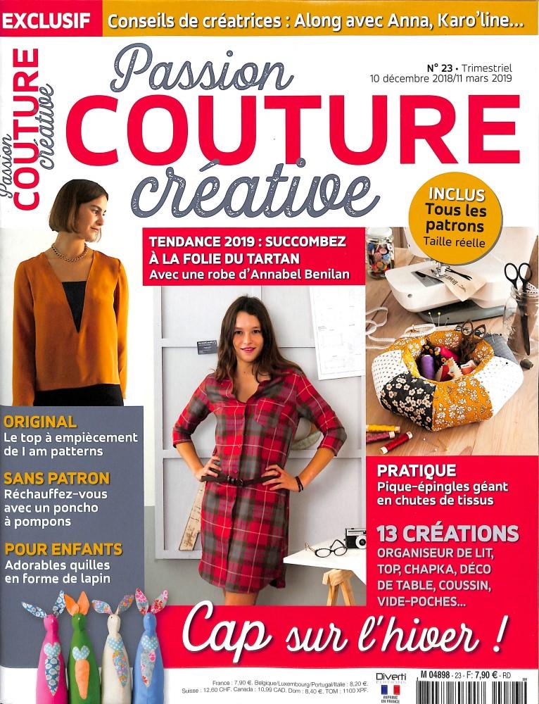 Passion couture créative N° 23 Décembre 2018