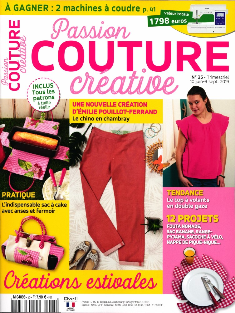 Passion couture créative N° 27 Décembre 2019