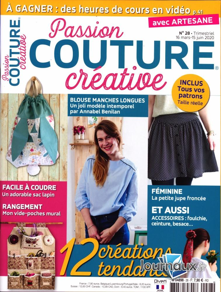 Passion couture créative N° 28 Mars 2020