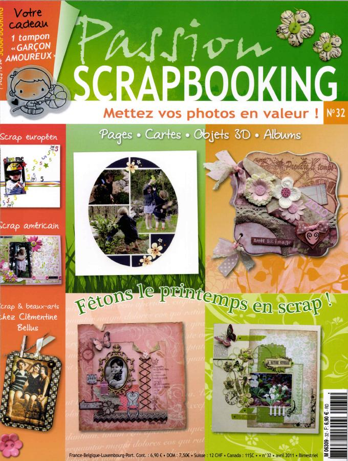 Passion scrapbooking N° 82 Septembre 2019