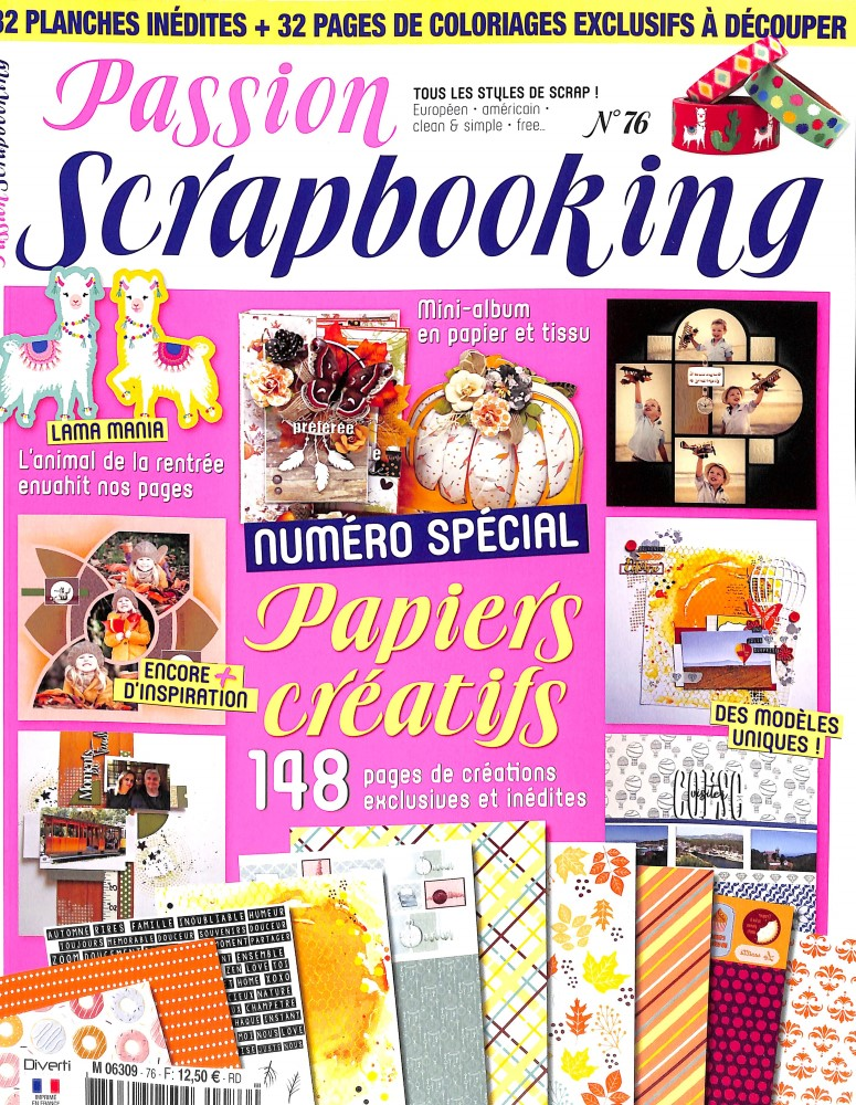 Passion scrapbooking N° 76 September 2018