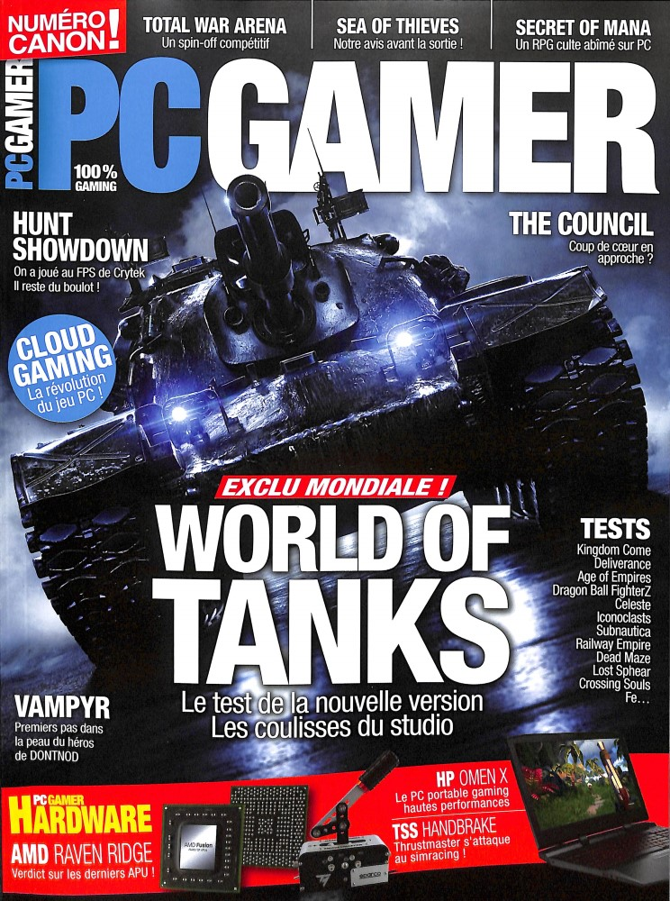 PC Gamer N° 22 March 2018