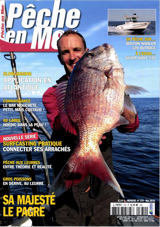 Pêche en mer N° 371 Mai 2016