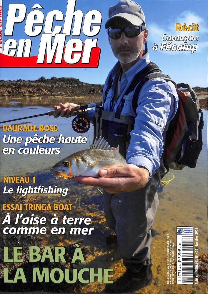 Pêche en mer N° 403 Janvier 2019