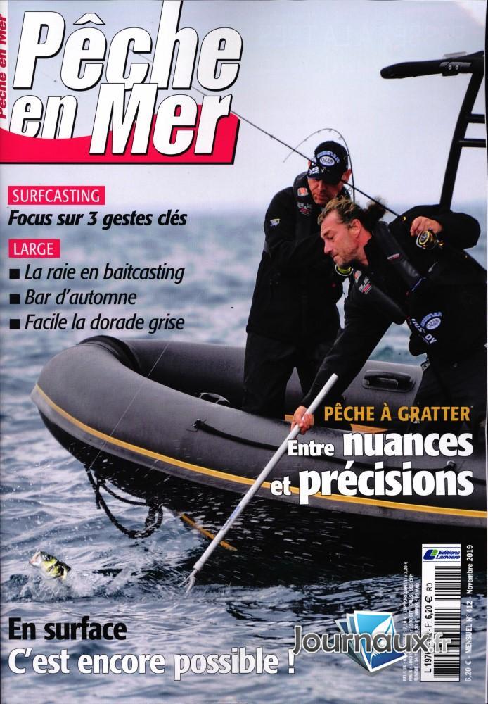 Pêche en mer N° 413 Novembre 2019
