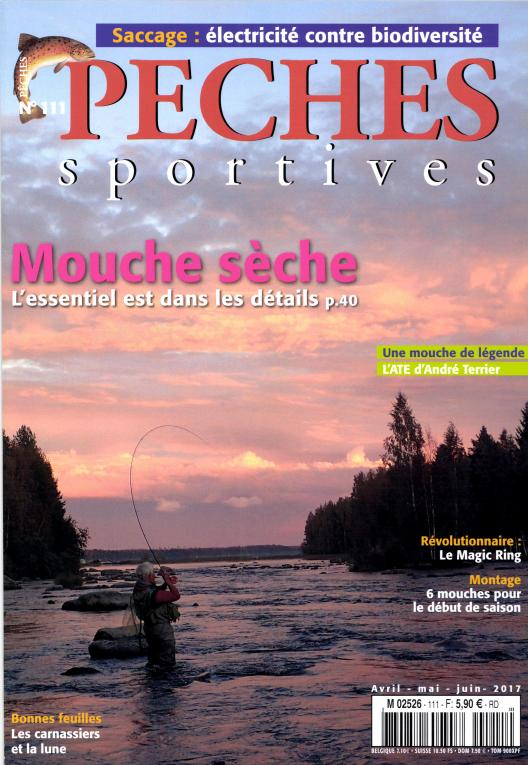 Pêches Sportives N° 111 Avril 2017
