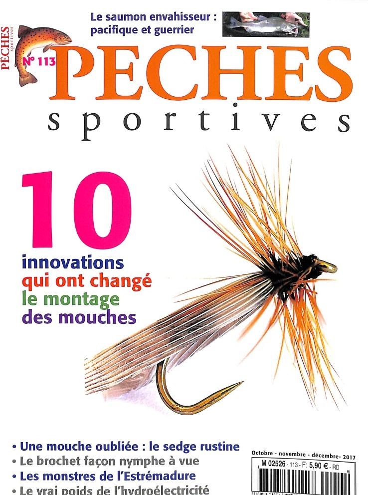 Pêches Sportives N° 113 Septembre 2017