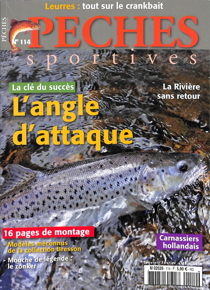 Pêches Sportives N° 114 Janvier 2018