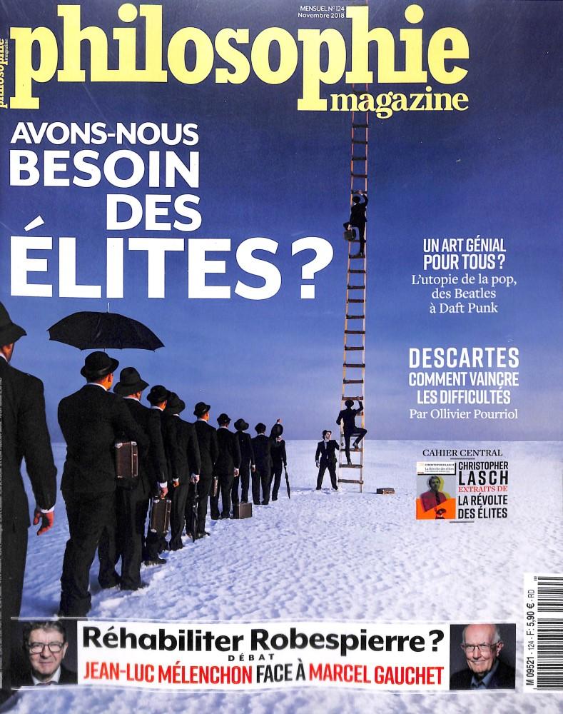 Philosophie Magazine N° 124 October 2018