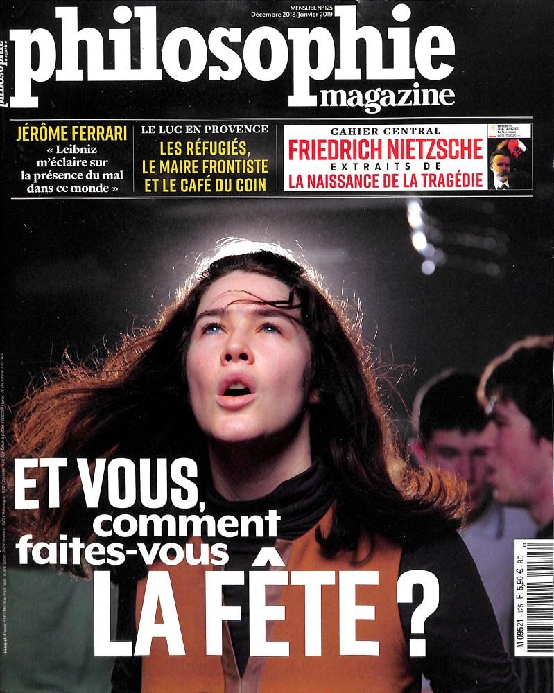 Philosophie Magazine N° 125 November 2018