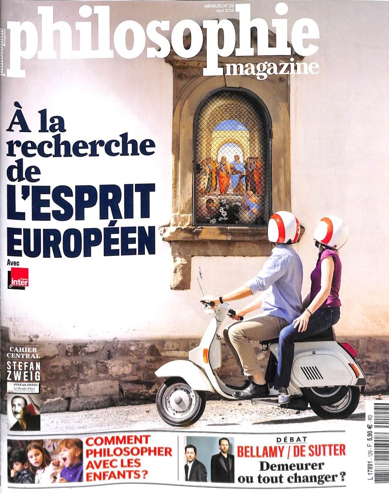 Philosophie Magazine N° 129 Avril 2019
