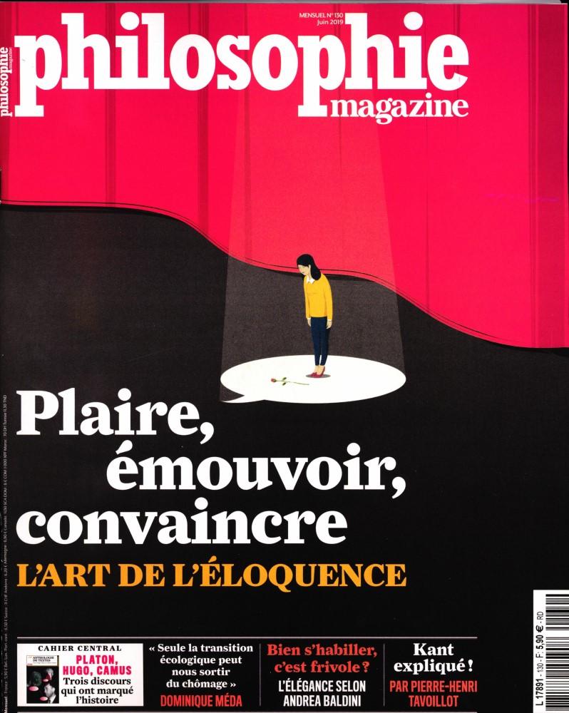 Philosophie Magazine N° 130 Mai 2019
