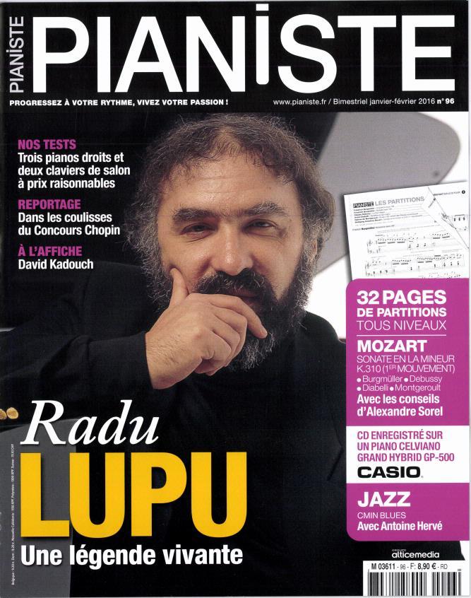 Pianiste N° 96 Décembre 2015