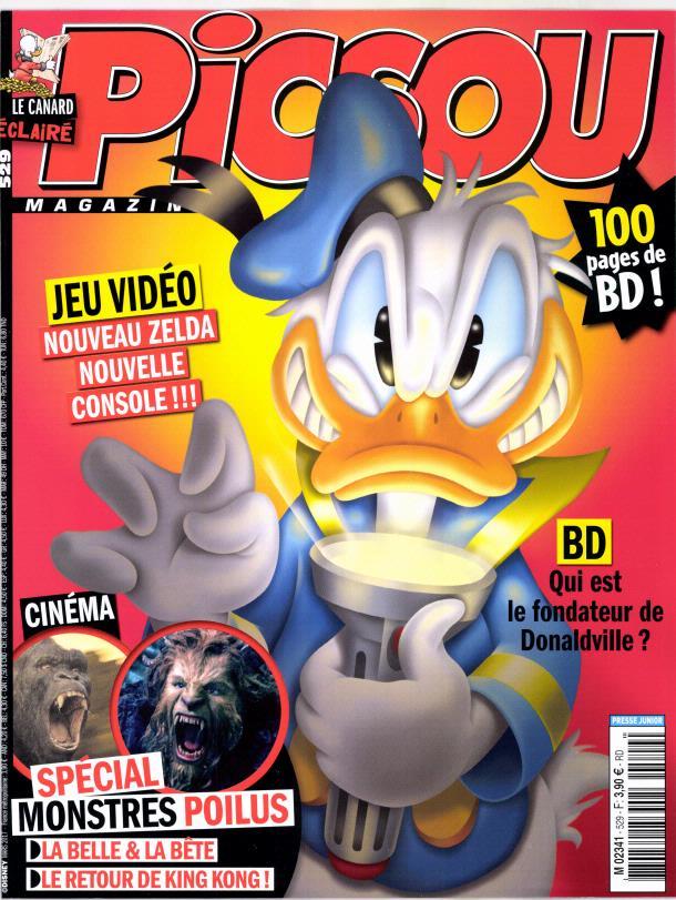 Picsou magazine N° 530 Mars 2017