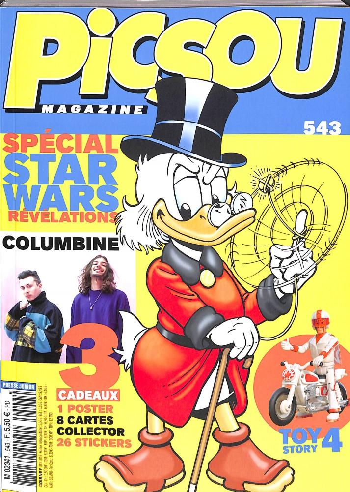 Picsou magazine N° 543 Mai 2019