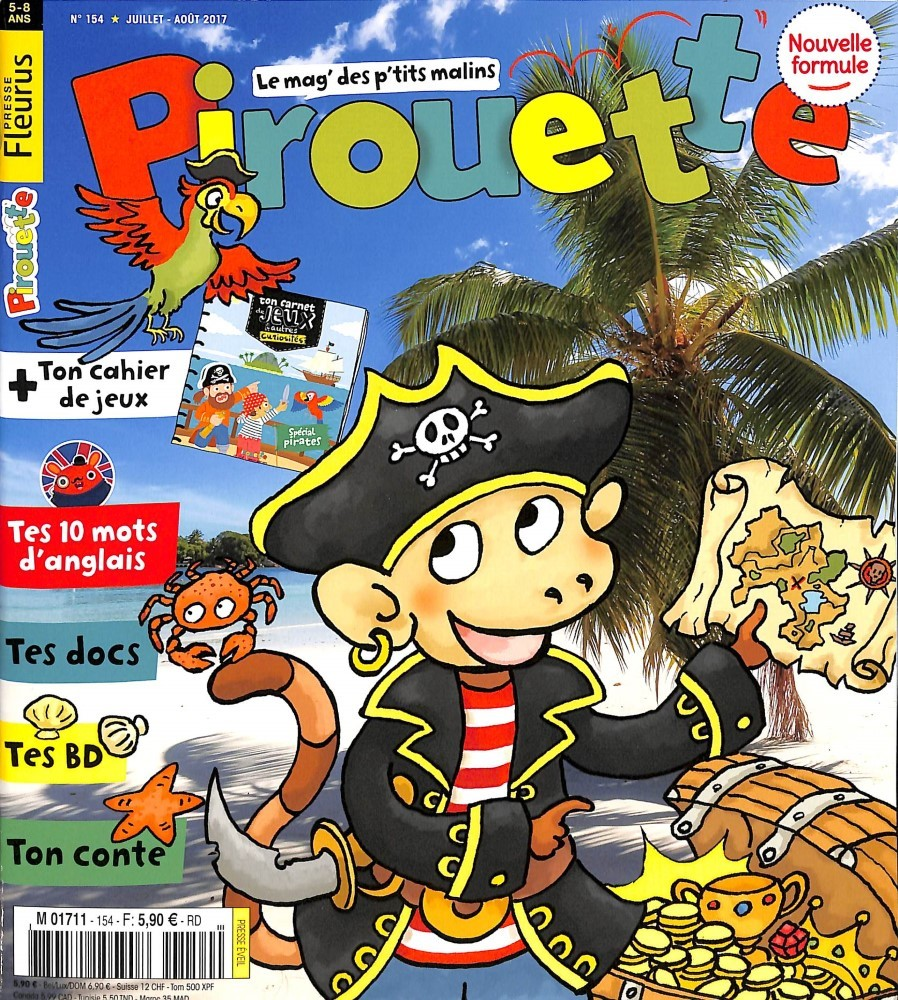 Pirouette N° 154 Juin 2017