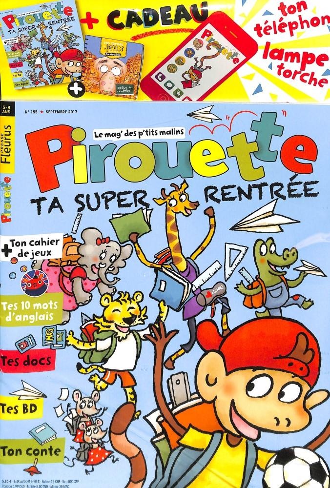 Pirouette N° 155 Août 2017