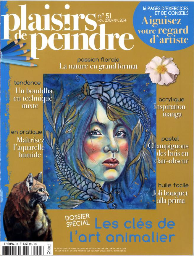 Plaisirs de peindre N° 75 Mai 2019