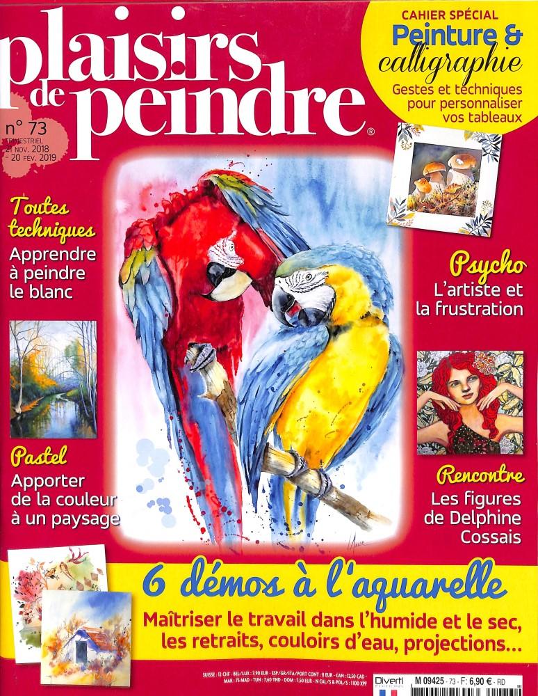 Plaisirs de peindre N° 73 November 2018