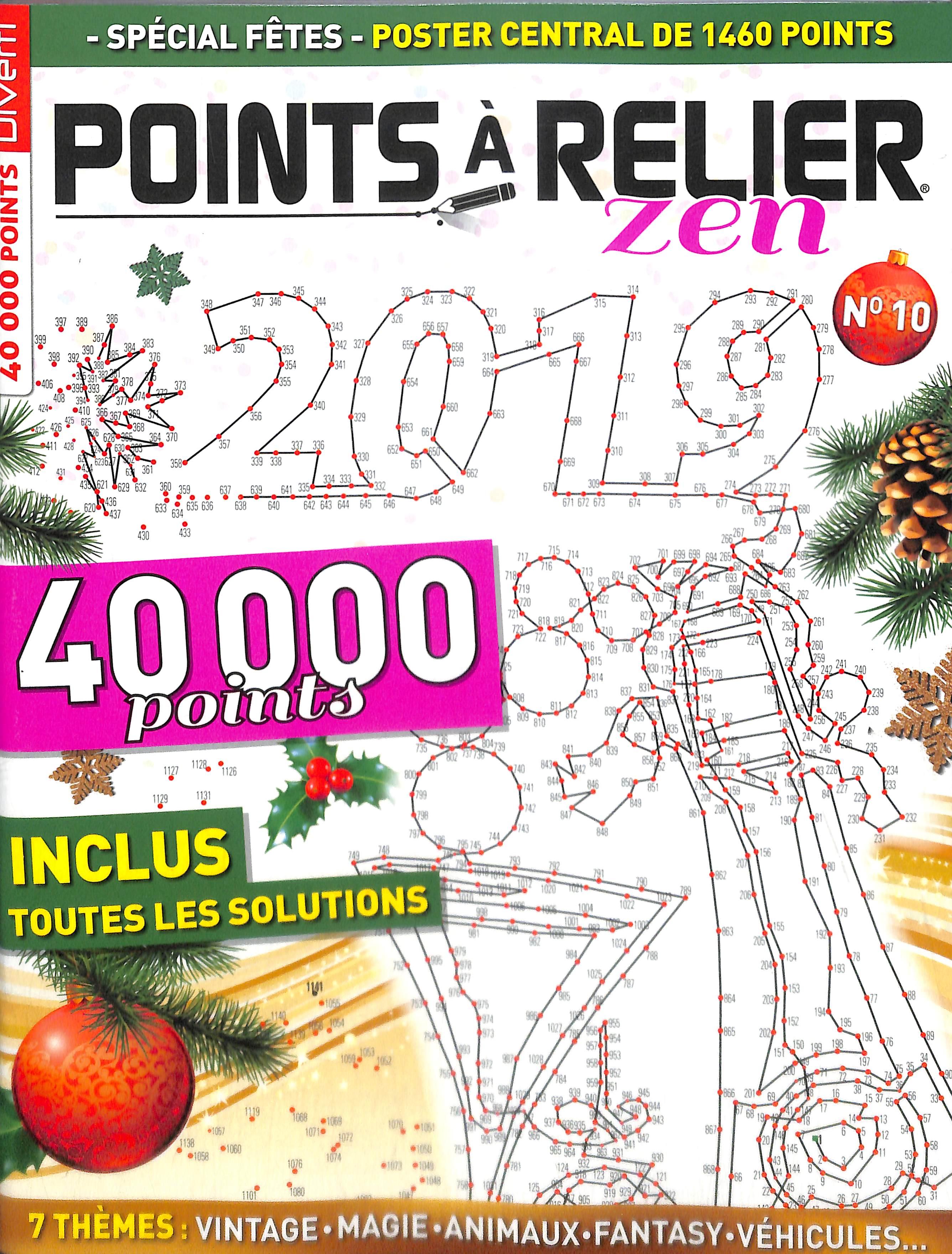 Points à relier Magic N° 11 Janvier 2019