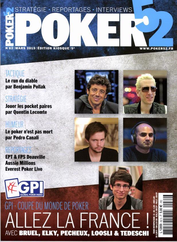 Poker 52 N° 116 Septembre 2019