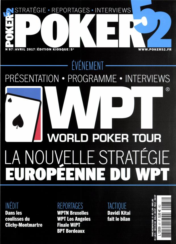 Poker 52 N° 88 Mai 2017