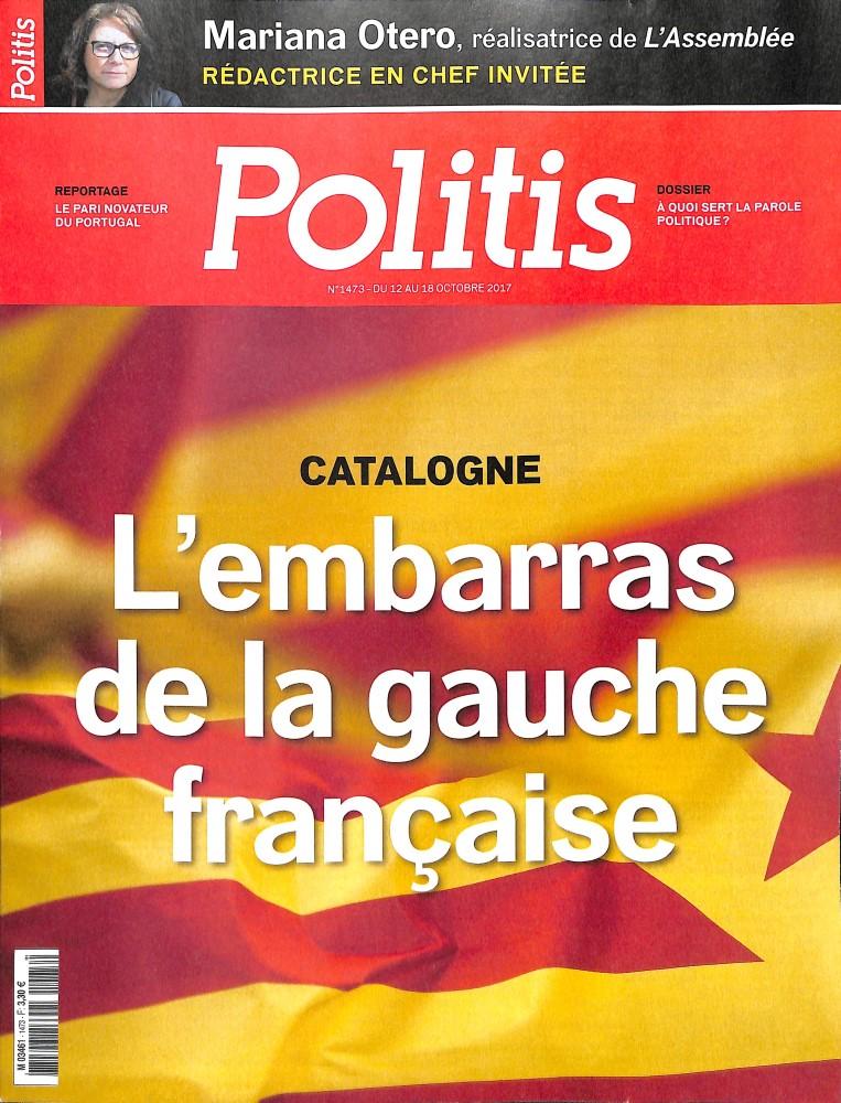 Politis N° 1473 Octobre 2017