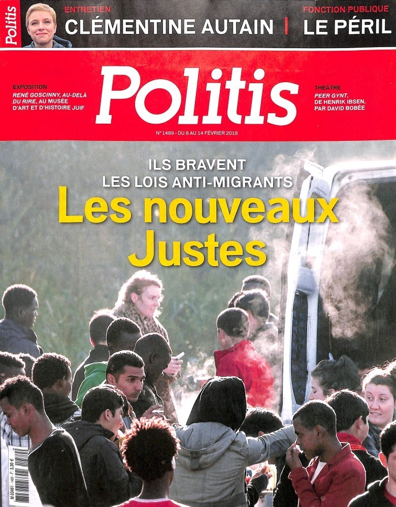 Politis N° 1486 Janvier 2018