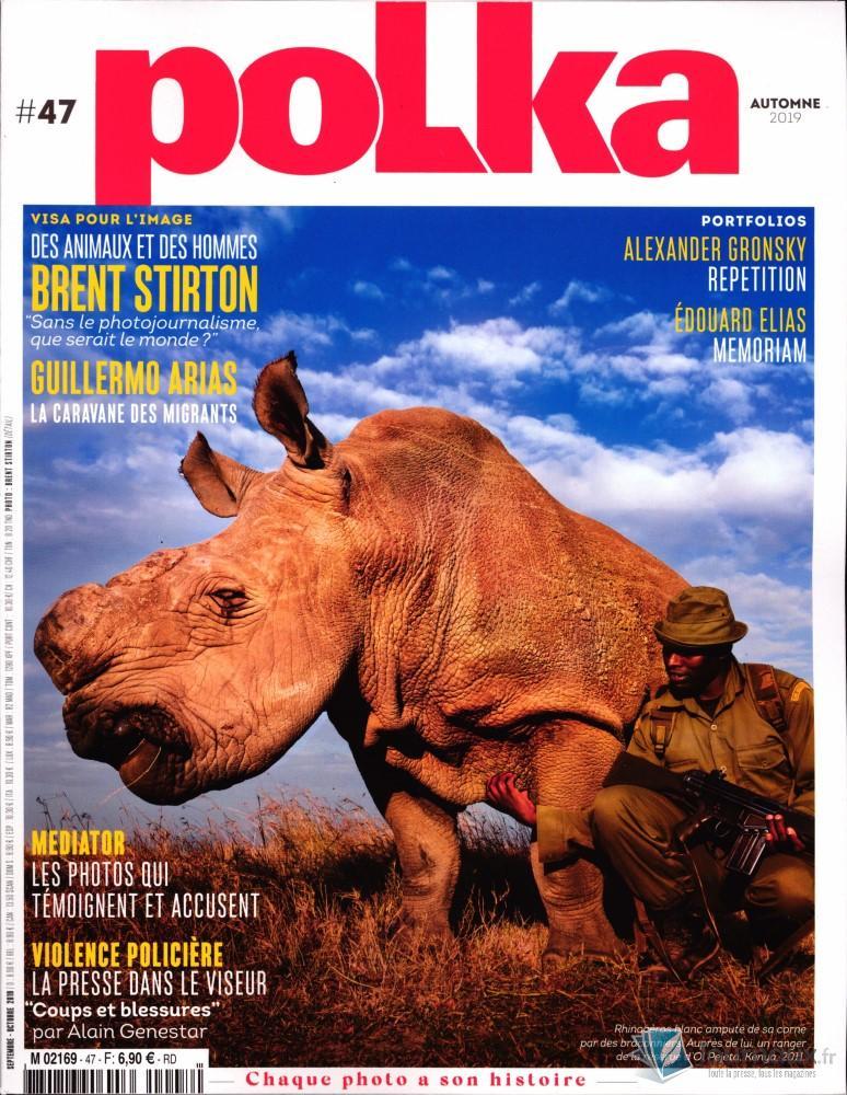 Polka Magazine N° 47 Août 2019