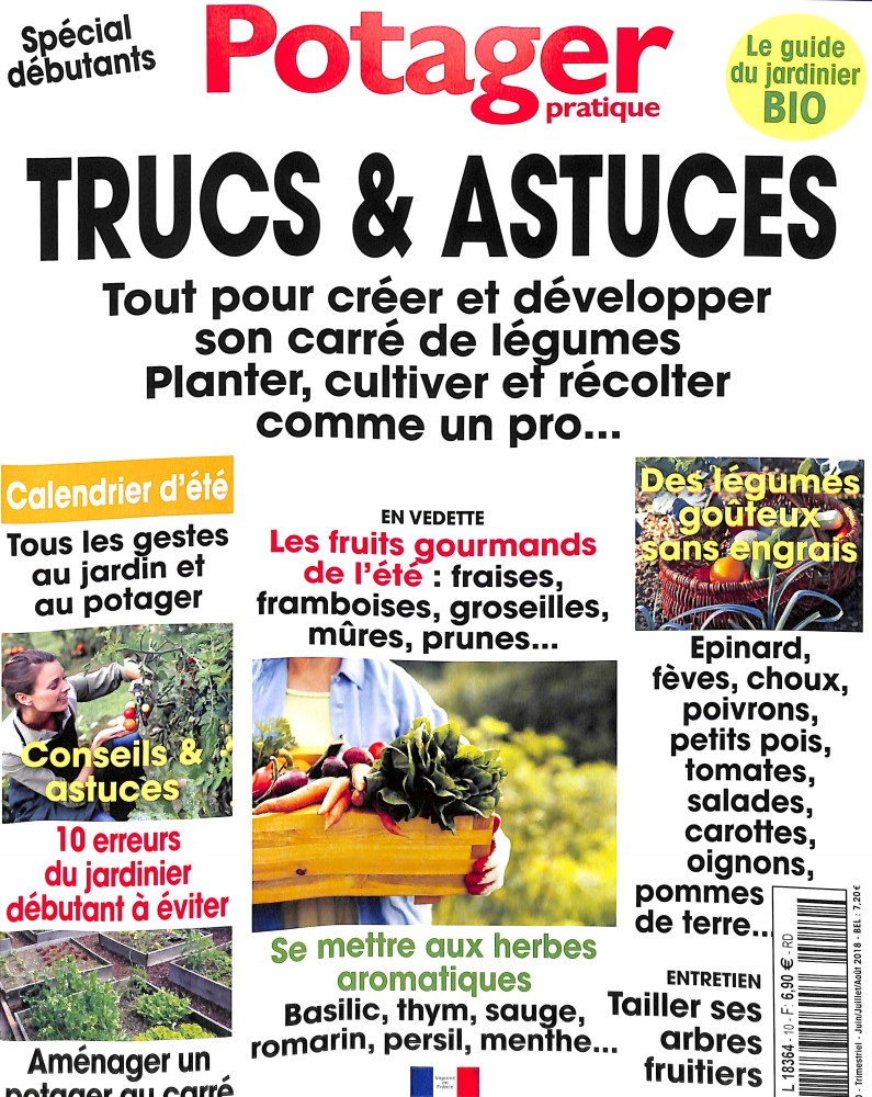 Potager pratique N° 10 May 2018
