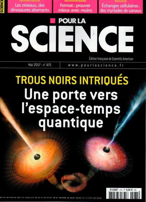 Pour la Science N° 475 Avril 2017