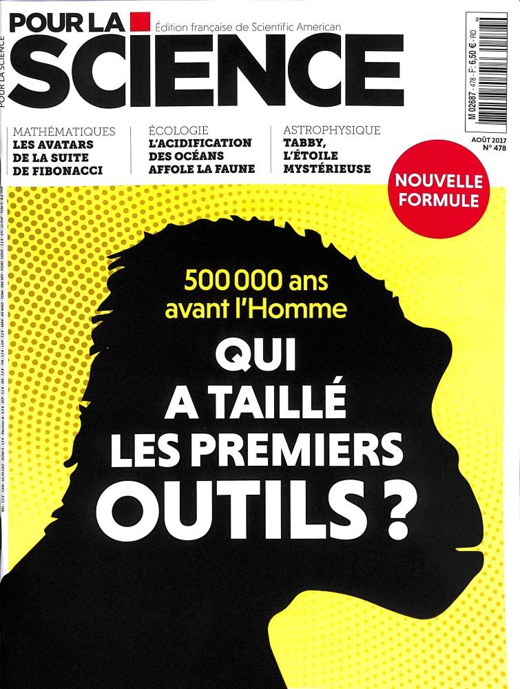 Pour la Science N° 478 Juillet 2017