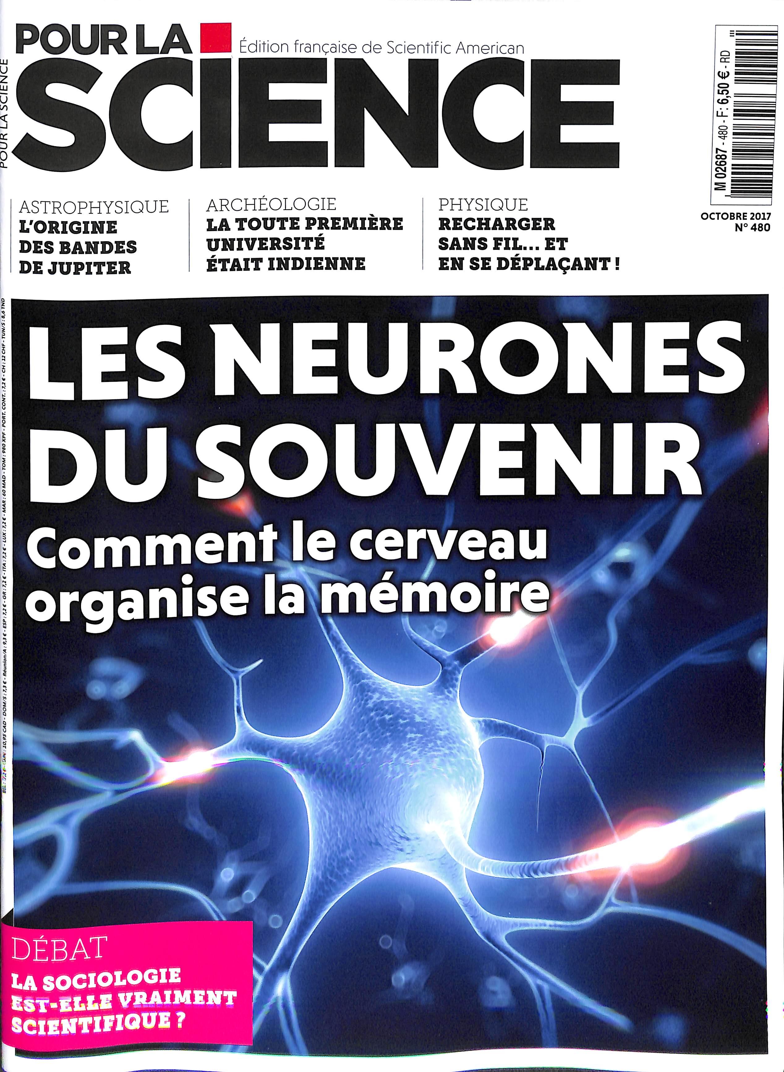 Pour la Science N° 480 Septembre 2017