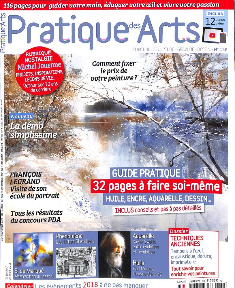 Pratique des arts N° 138 January 2018