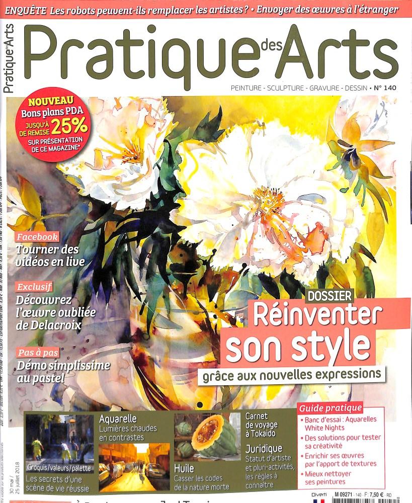 Pratique des arts N° 140 May 2018