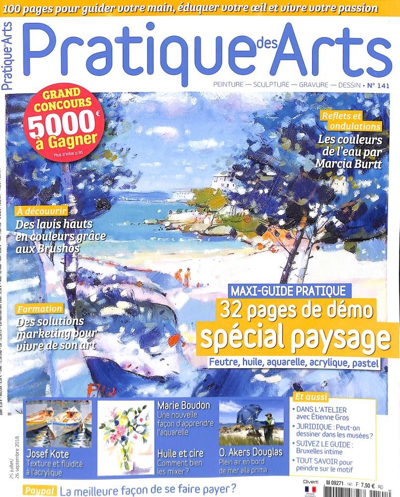 Pratique des arts N° 141 July 2018