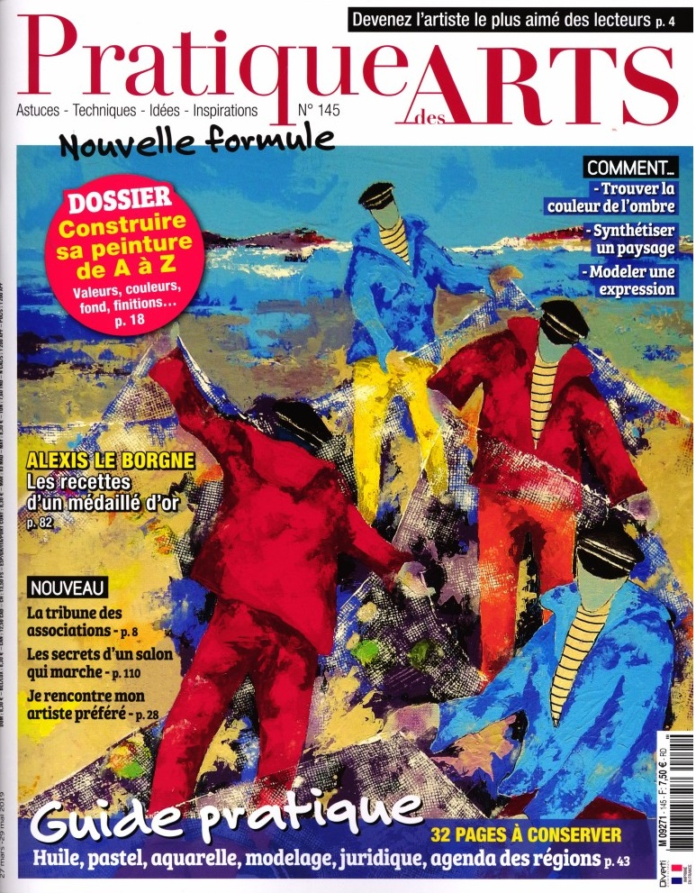 Pratique des arts N° 145 Mars 2019