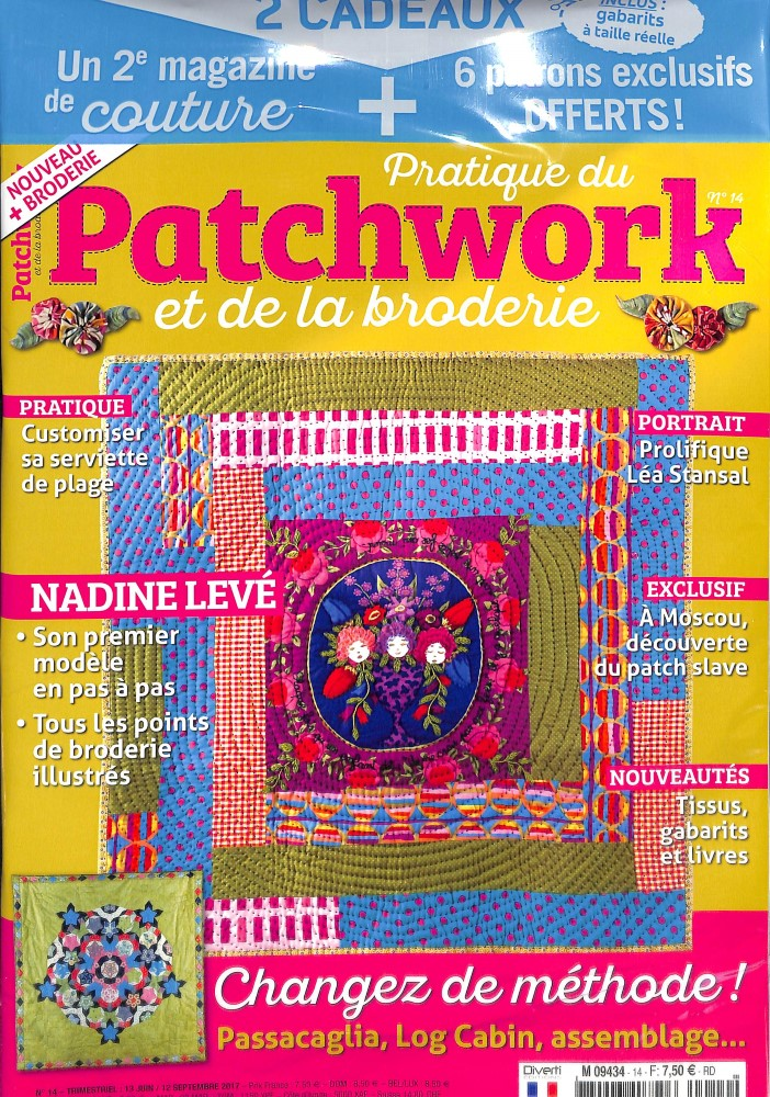 Pratique du patchwork N° 14 Juin 2017