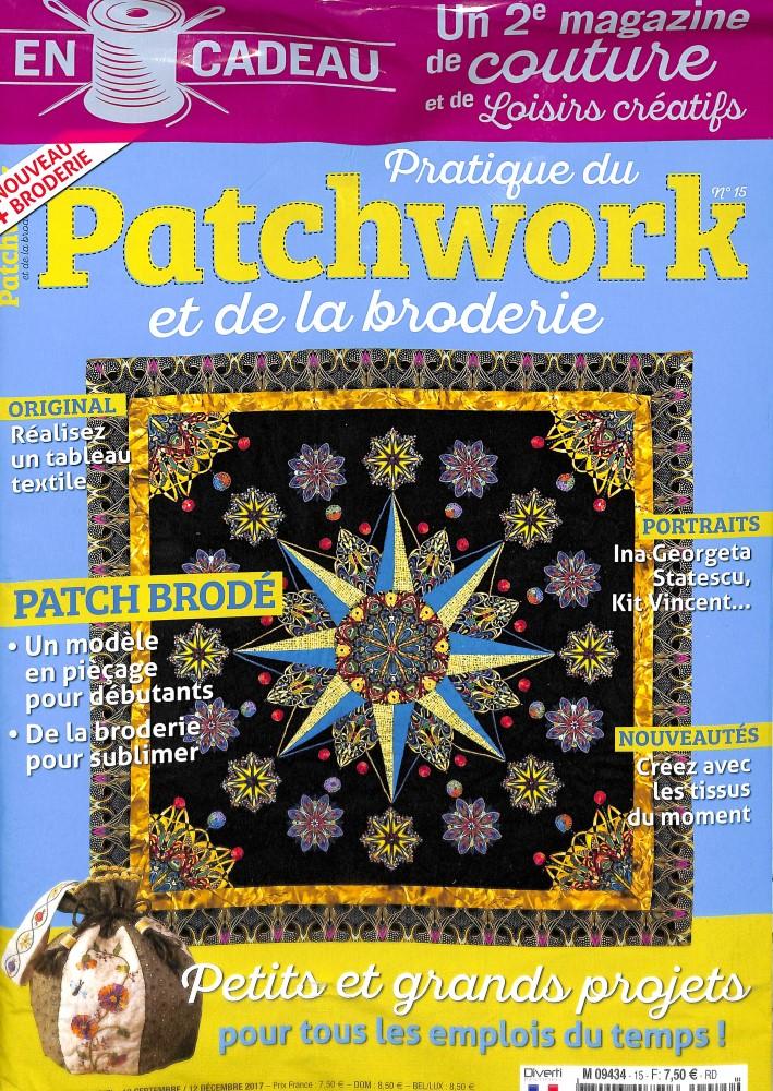 Pratique du patchwork N° 15 Septembre 2017