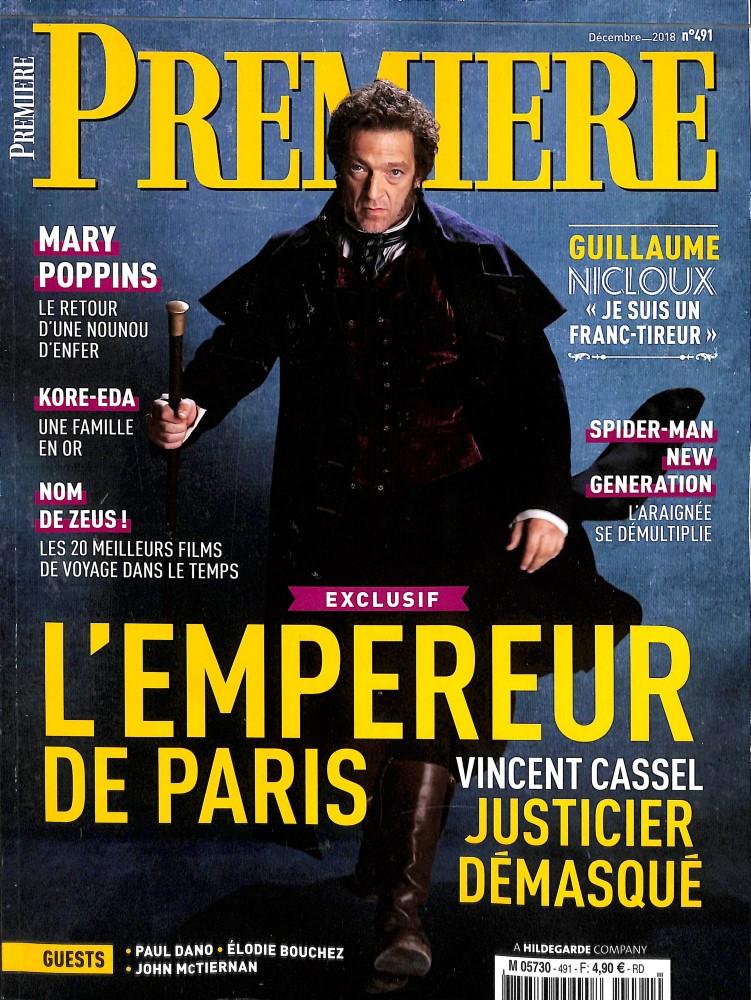 Première N° 491 December 2018