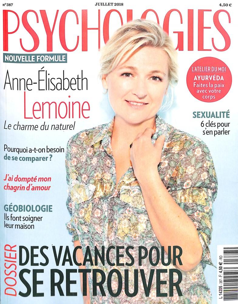 Psychologies Magazine N° 387 June 2018
