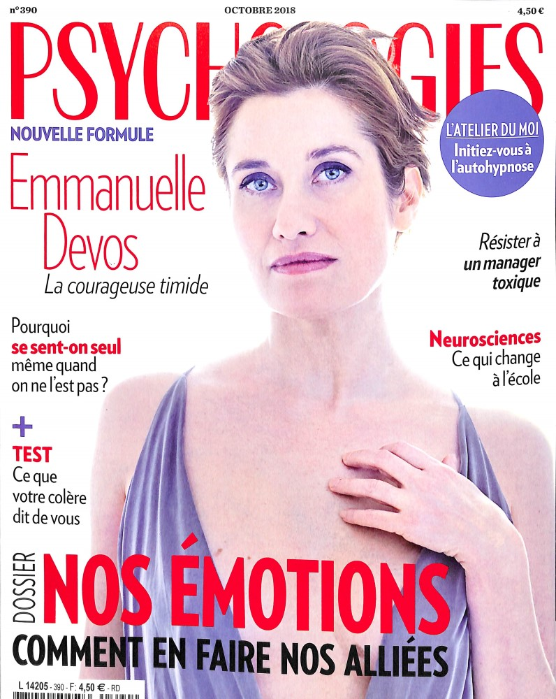 Psychologies Magazine N° 390 September 2018