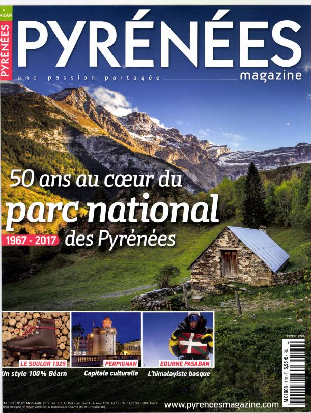 Pyrénées Magazine N° 170 Février 2017
