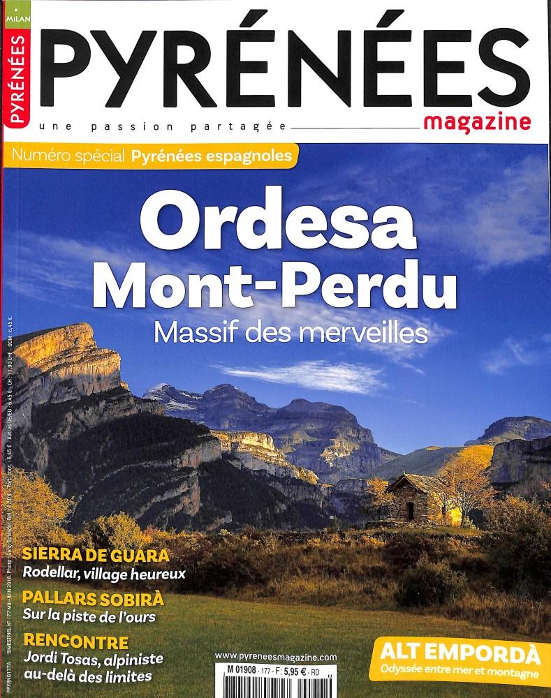 Pyrénées Magazine N° 177 April 2018