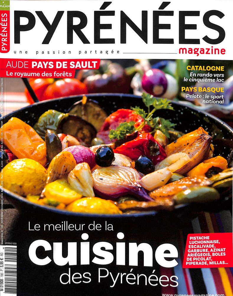 Pyrénées Magazine N° 180 October 2018
