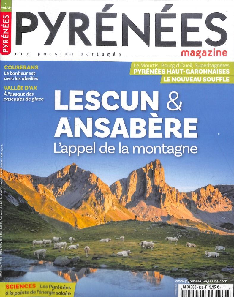 Pyrénées Magazine N° 182 Février 2019