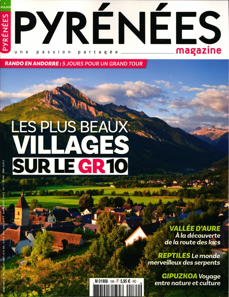 Pyrénées Magazine N° 184 Juin 2019