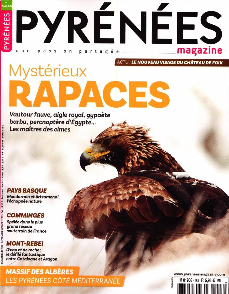 Pyrénées Magazine N° 185 Août 2019